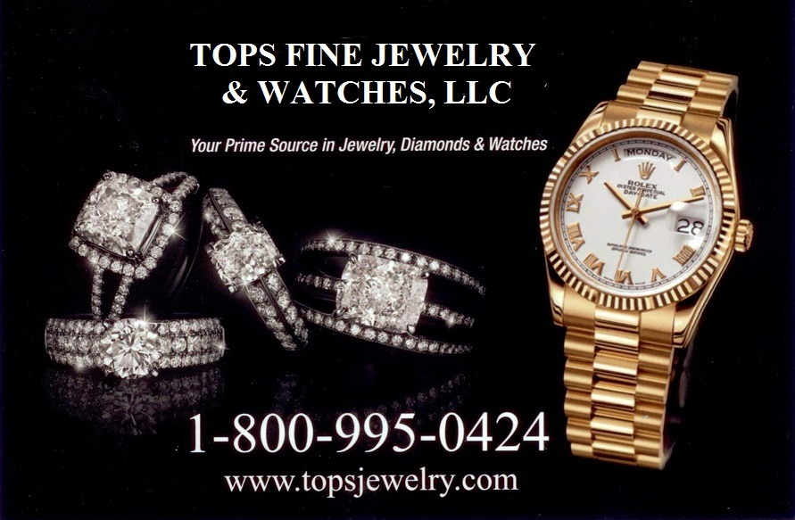 Tops Fine Jewelry and Watches, LLC. Products