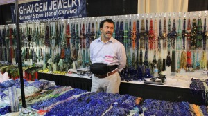 Afghan Gem Jewellery Booth