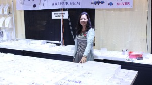 Arthur Gem and Jewellery Co. Booth