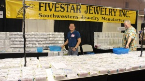 Fivestar Jewelry Inc. Booth