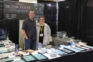 Silver State Turquoise Booth