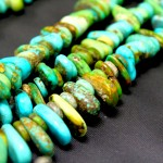 Green Spiny Oyster Cabochon Necklace