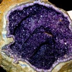 Huge Purple Amethyst Geode