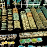 Turquoise Jewelry Assortment Showcase