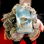 Huge Turquoise Quartz Crystal