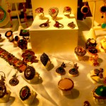 Rings, bracelets, earrings, and pendants