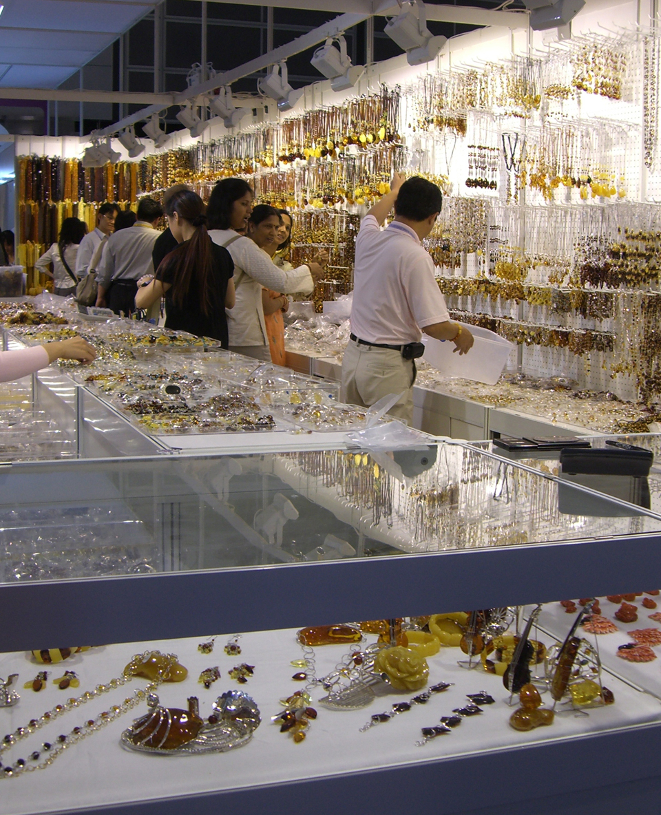 Products at Tucson Gem Show