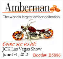 Amberman - World's Largest Amber Collection See us at JCK Las Vegas Show!