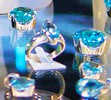 Blue Turquoise Finished Jewelry at JOGS Tucson Gem & Jewelry Show
