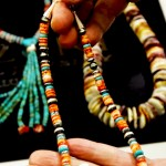 Al Zuni - Orange Spiny Oyster Necklace with various colors