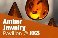 Amber Jewelry Pavilion at JOGS Tucson Gem & Jewelry Show