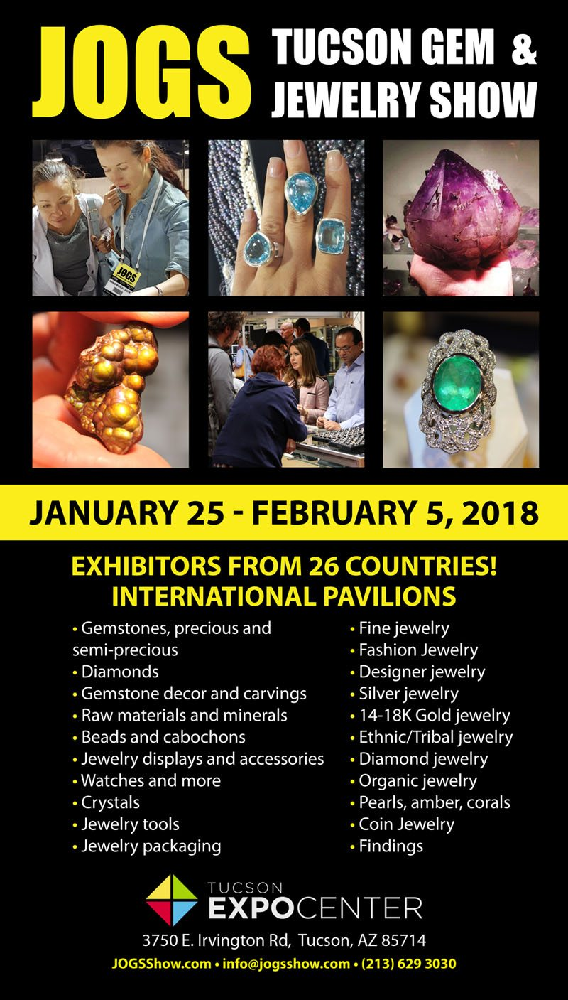 invite friends 2018 jogs tucson gem and jewelry show in az