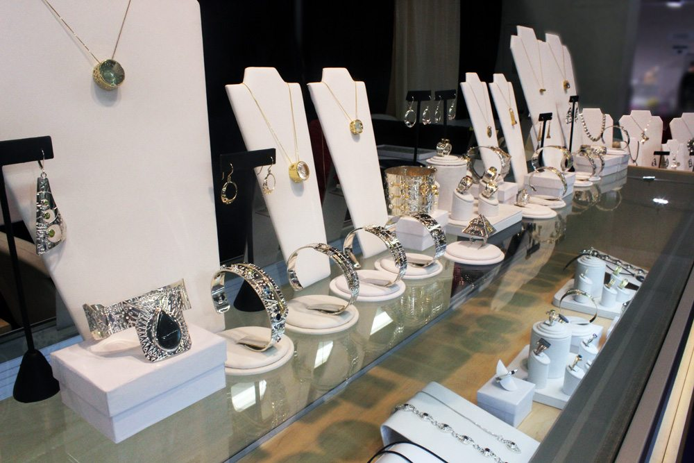 Jason McLeod's booth at the JOGS Tucson Gem & Jewelry Show