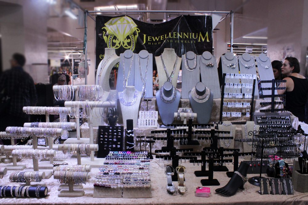 Jewellenium's Booth at the JOGS Gem & Jewelry Show