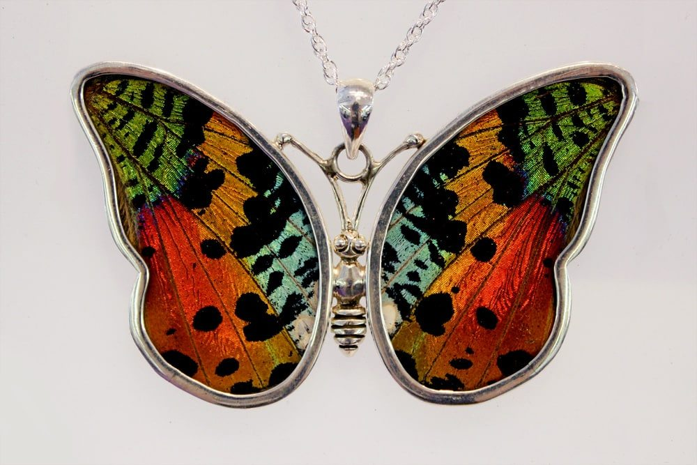 Full butterfly pendant