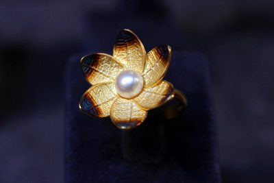 Flower Ring from Truva