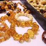 Amber Bracelets at the JOGS Tucson Gem & Jewelry Show