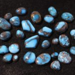 Bisbee Turquoise Cabochons at the JOGS Tucson Gem & Jewelry Show