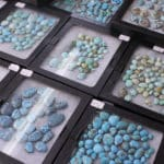 Turquoise Cabochons at the JOGS Tucson Gem & Jewelry Show