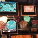 gemstone boxes carvings tucson gem show