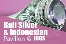 Bali Silver and Indonesian Pavilion at JOGS Tucson Gem & Jewelry Show