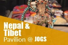 Nepal and Tibet Pavilion at JOGS Tucson Gem & Jewelry Show