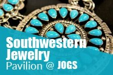 Turquoise and Southwestern Jewelry Pavilion at JOGS Tucson Gem & Jewelry Show