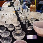 Quartz carvings tucson gem show