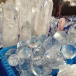 quartz points tucson gem show
