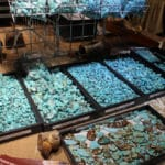 Rough Turquoise at the JOGS Tucson Gem & Jewelry Show