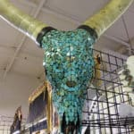 Turquoise Sculpture at the JOGS Tucson Gem & Jewelry Show