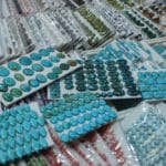 Turquoise Cabs Sets at the JOGS Tucson Gem & Jewelry Show