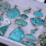 Turquoise Pendants at the JOGS Tucson Gem & Jewelry Show