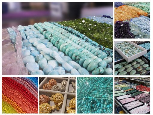 Beads and Cabochons at the Fall Tucson Gem Show