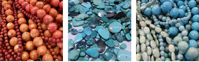 Turquoise Beads at the Fall Tucson Gem Show